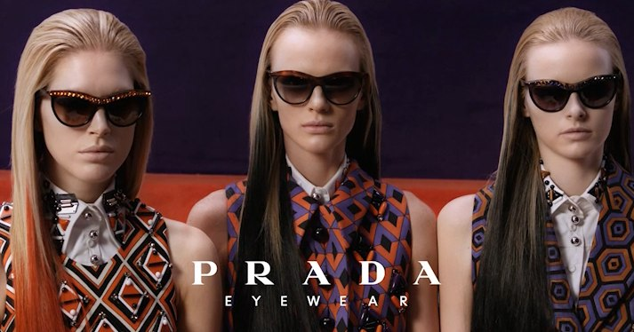 Prada Sunglasses Fall Autumn 2013